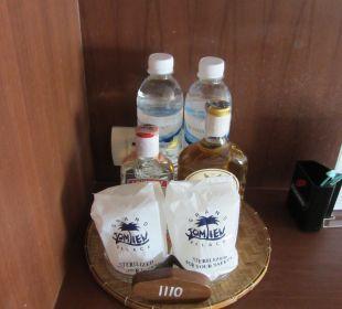 Zugabe zur Minibar Hotel Grand Jomtien Palace