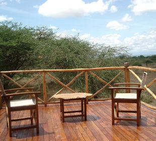 Balkon der Kibu-Suite