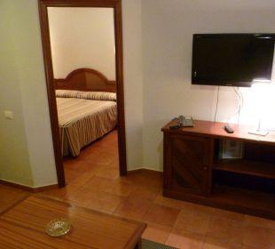 Flachbild-TV Hotel Dorotea