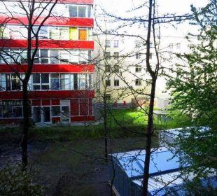Blick v. Fenster Vienna House Easy Berlin