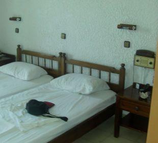 Schlafraum Hotel Karavos