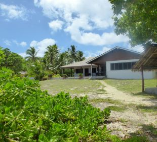 Hauptgebäude Sandy Beach Resort Tonga