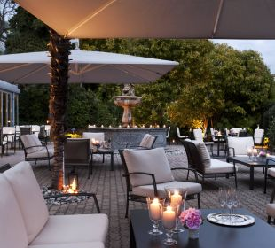 Terrasse Restaurant Fontana Hotel Belvedere Locarno