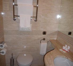 Badezimmer PK Riga Hotel