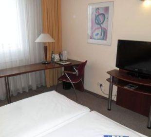 Teilübersicht Zi. 302 Globana Airport Hotel