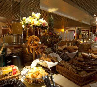 Frühstücksbuffet Teilansicht City Hotel Ost am Kö Augsburg