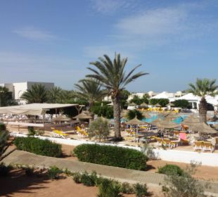 Vnitřek areálu SunConnect Djerba Aqua Resort