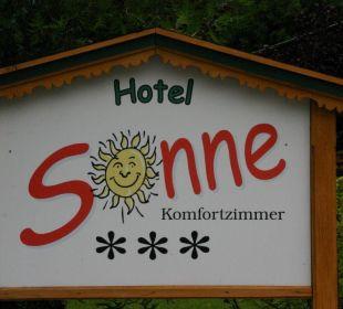 Willkommen Hotel Sonne