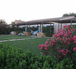 Gartenanlage mit Appartements Agroturisme Can Pere Rei