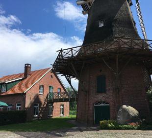 Außenansicht Landgasthof Hengstforder Mühle