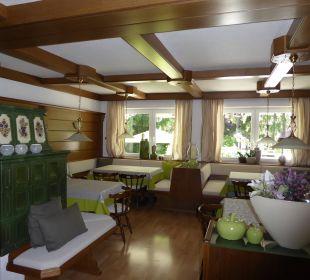 Frühstücksraum  Haus Madlein