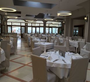 Restaurant Inside Hotel Acharavi Beach
