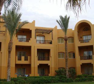 Zimmer von aussen Stella Di Mare Beach Resort & Spa Makadi Bay