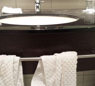 Leider schmutziges Bad Hotel Dorint an der Messe Köln
