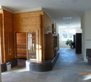 Großzügiger Saunabereich Strandhotel Dünenmeer