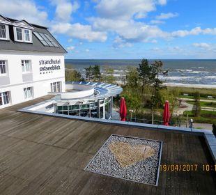 Außenansicht Strandhotel Ostseeblick