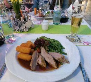Essen, sehr lecker!!! Hotel Harzhaus