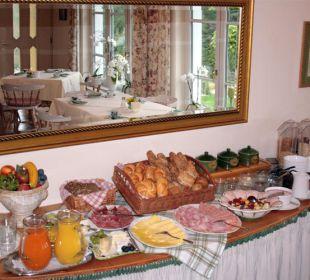 Reichhaltiges Frühstücksbuffet Appartements & Zimmer Almhof Koren