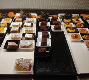 Nachspeise zum Direktor-Dinner Sensimar Calypso Resort & Spa