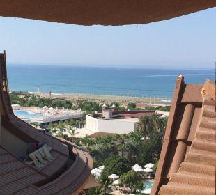 Seitlicher Ausblick zum Meer Hotel Royal Dragon