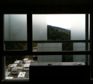 Hinter Gittern Hotel Cube Savognin