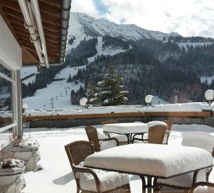 Blick vom Restaurant aus Kinderhotel Oberjoch