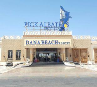 Eingangsbereich Dana Beach Resort