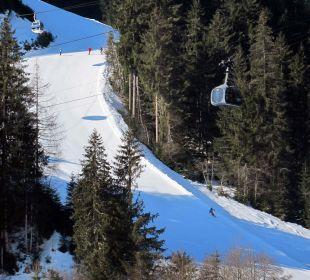 Blick vom Balkon AlpineResort Zell am See