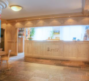 Sunstar Hotel Wengen - Rezeption  Sunstar Alpine Hotel Wengen