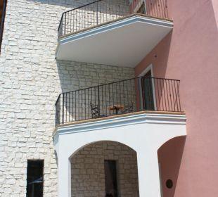 Der Eingang der Residence Residenza Le Due Torri