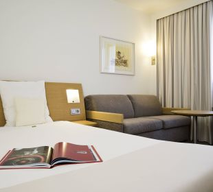 Doppelzimmer mit Schlafcouch Hotel Novotel München City
