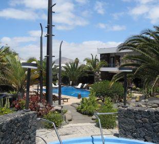 Blick vom Whirlpool aufs Hotel Hotel Boutique Villa VIK