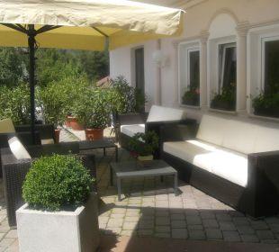 Der einladende Eingangsbereich vom Hotel Hotel Dolomitenblick