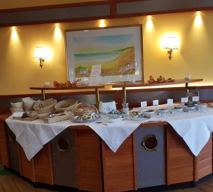 Frühstück, Backwaren und Süßes Nautic Usedom Hotel & Spa