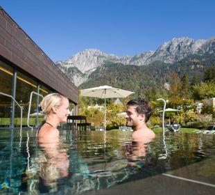 Aussenpool © Hotel Traube  Traube Braz Alpen.Spa.Golf.Hotel