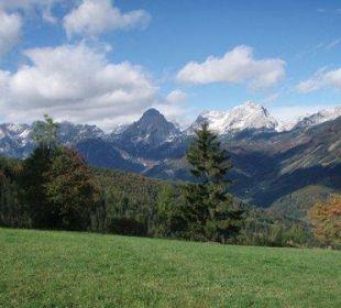 Blick ins Tote Gebirge Almgasthof Baumschlagerberg