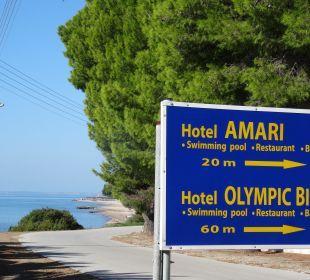 Meer vor Augen........... Hotel Amari