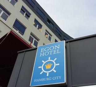 Hausfassade vom Hotel (früher Zleephotel) Hotel Zleep Hamburg City