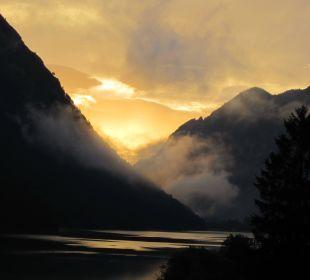 Sonnenaufgang um 06:19  Hotel Fischer am See