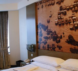 Kingsize Bett - immer top Hotel Harbour Grand Hong Kong