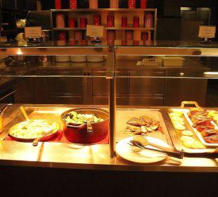 Teil eines Abendbuffets in der Stüva Hotel Laudinella