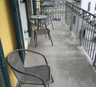 Balkon MONDI-HOLIDAY First-Class Aparthotel Bellevue