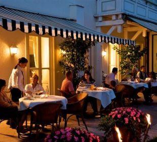 Terrasse Hotel Jodquellenhof Alpamare (Hotelbetrieb eingestellt)