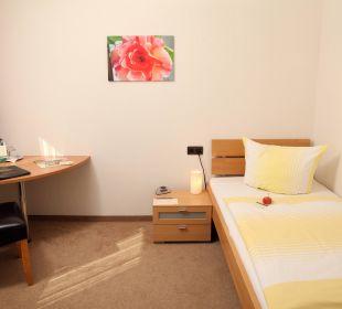 Einzelzimmer der Standardkategorie Ringhotel Paulsen