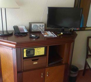 Minibar, Safe, Fernseher, Radio altGlowe Hotel Garni