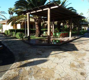 Gartenanlage mit Spielplatz  Dunas Suites&Villas Resort