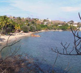 Blick vom Wellnesscenter Hotel The Calabash