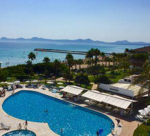 Wunderschöner Ausblick  Hotel Playa Esperanza
