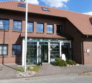 Eingang Hotel Nussbaumhof