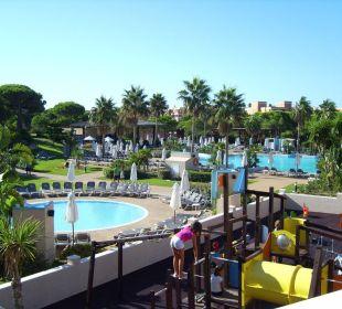 Blick auf den Garten Hotel Valentin Sancti Petri